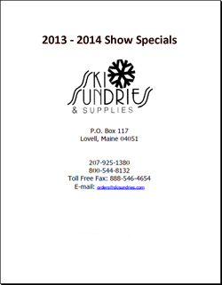 Ski Sundries Show Specials